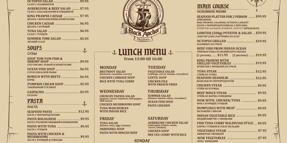 Black Anchor restaurant