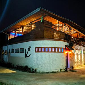 Black Anchor restaurant, Dive Villa