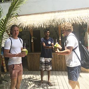 Guests Dive Villa