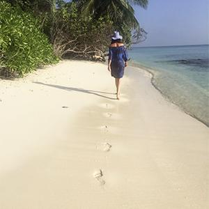Thoddoo beach, Maldives