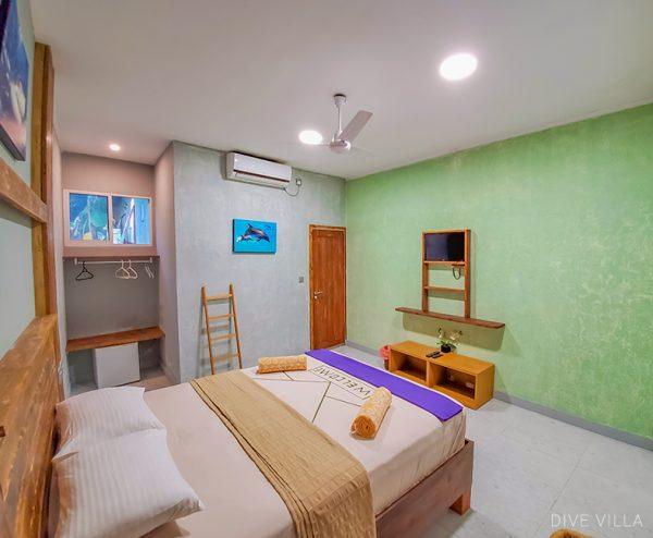 Rooms,Dive Villa Standard Double Room