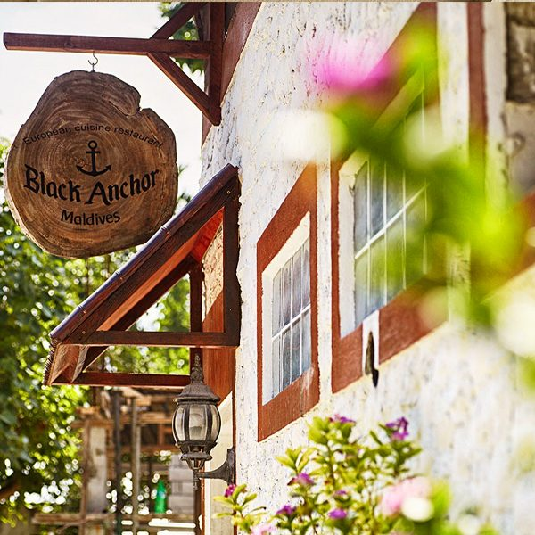 Black Anchor, Dive Villa, Thoddoo